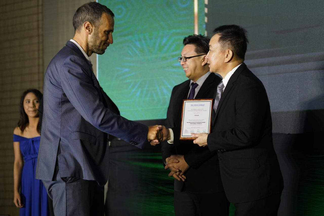 Largest Crypto Wallet in the Philippines wins at The Asian Banker Philippine Awards 2019